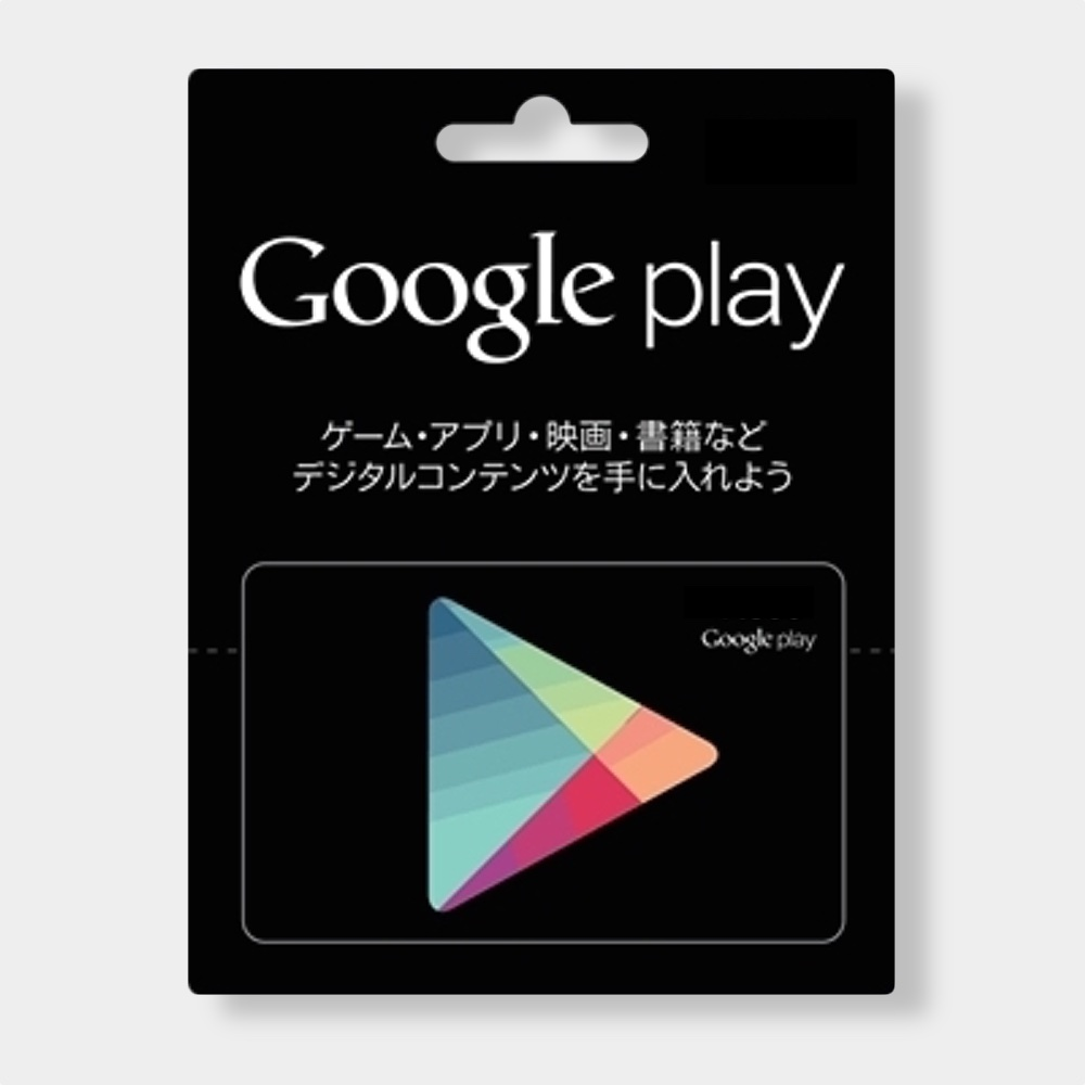 Google Play Gift Card Japan Codes